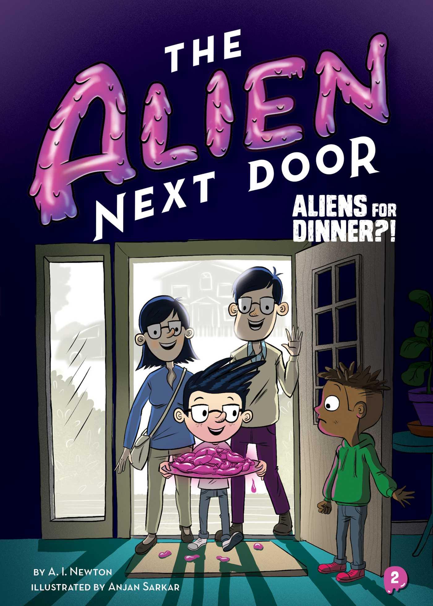 2 aliens for dinner  9781499805611 hr