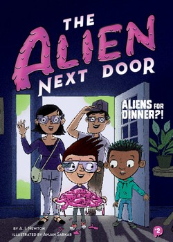 The Alien Next Door 2  Aliens for Dinner ! eBook by A. I. Newton ... cd366d38a7