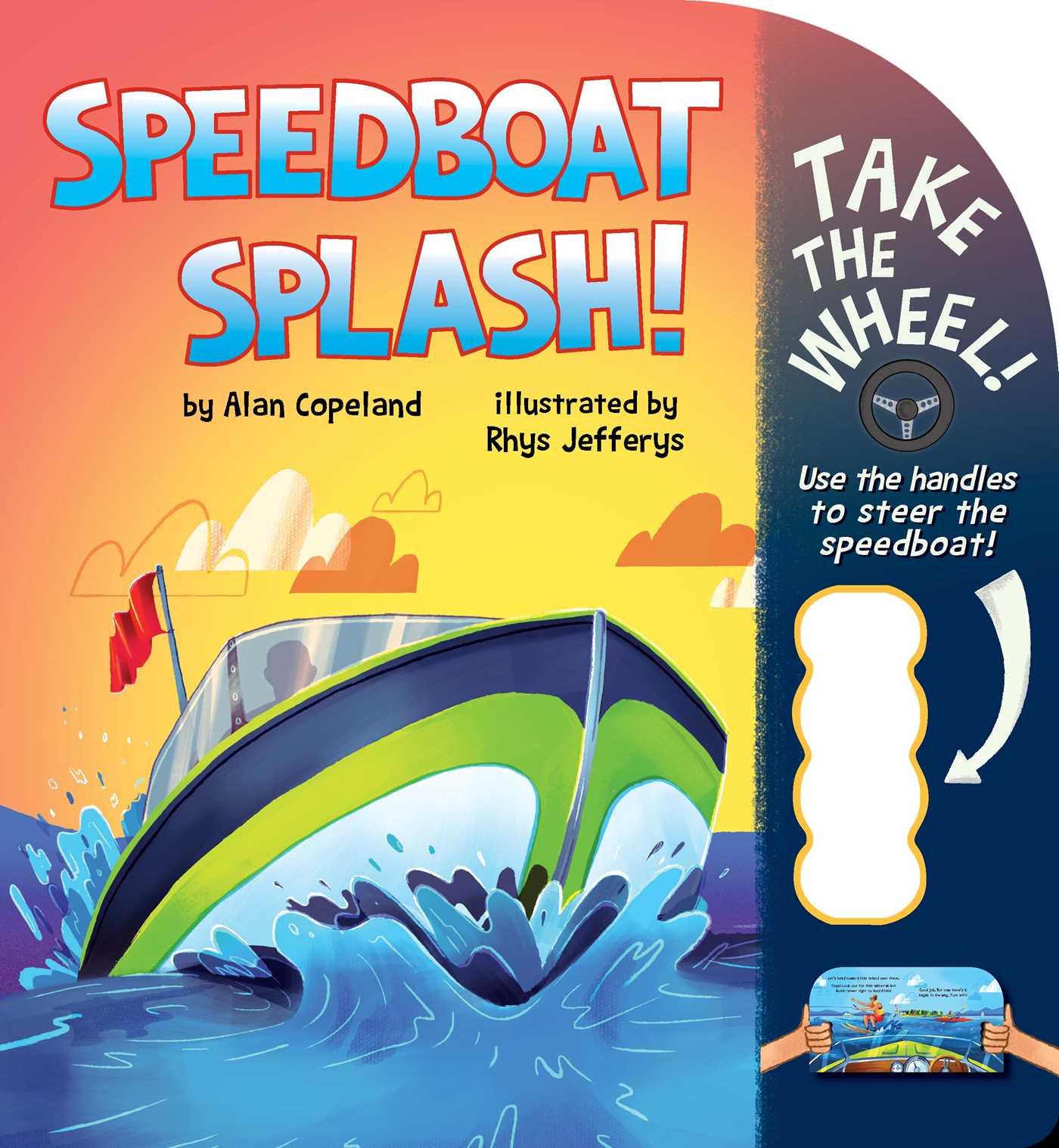 Speedboat splash 9781499806274 hr