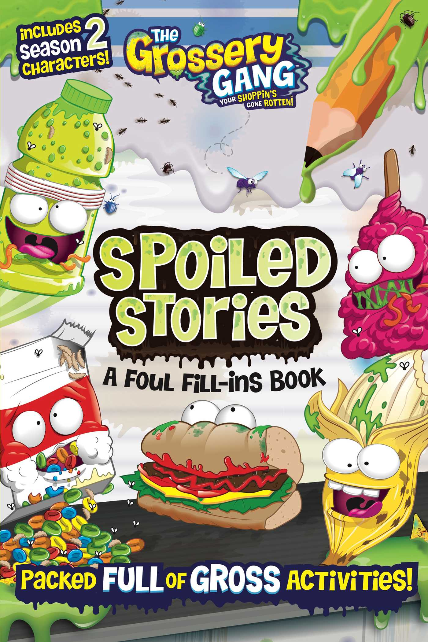 The grossery gang spoiled stories a foul fill ins book 9781499806632 hr