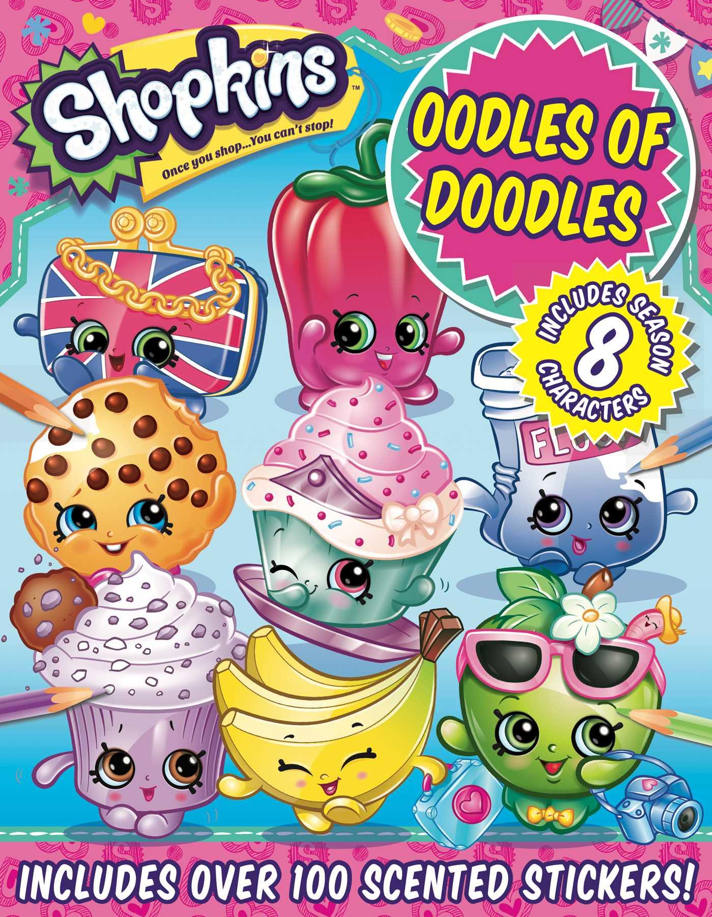 Shopkins oodles of doodles 9781499806755 hr