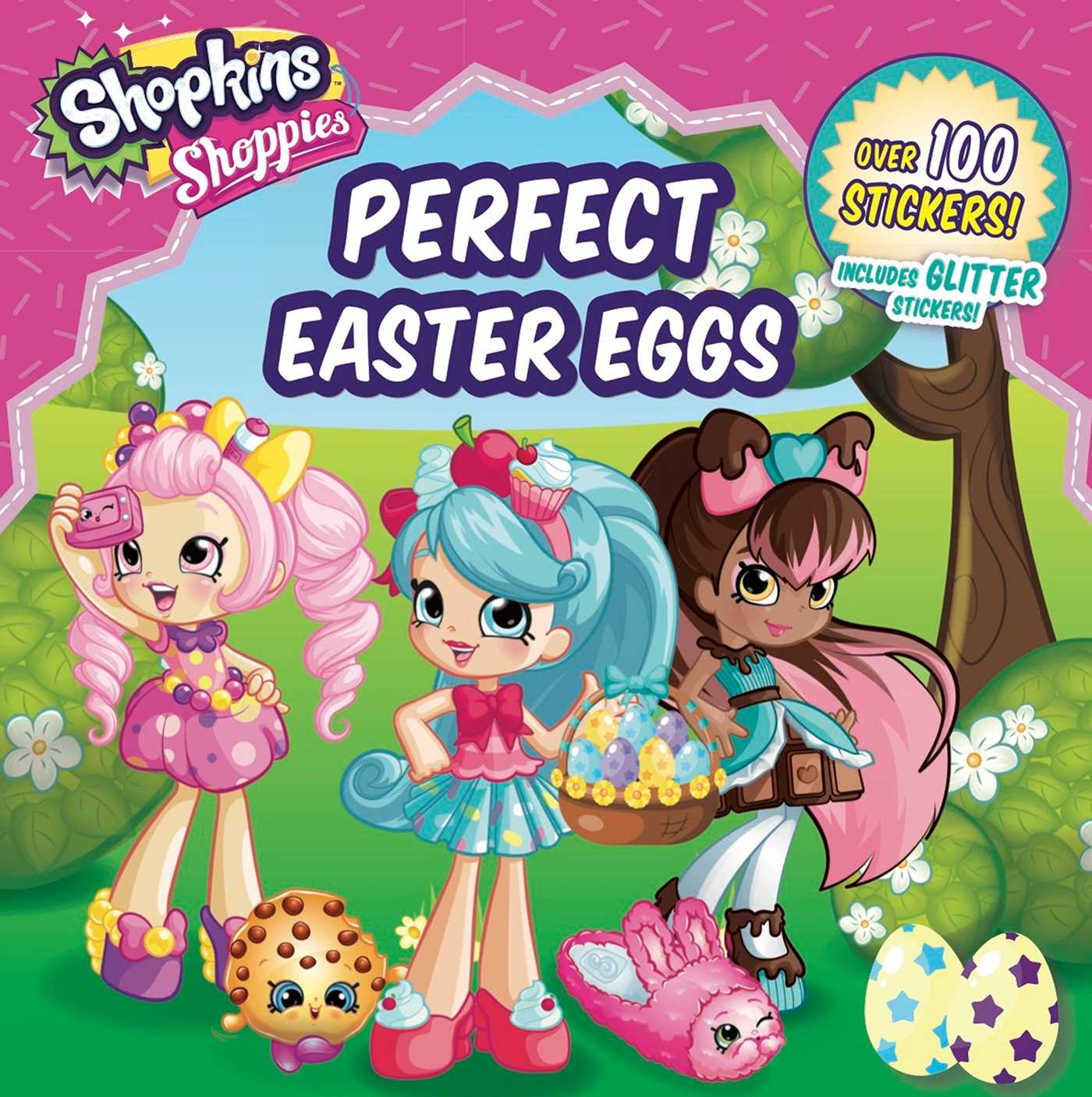 Shoppies perfect easter eggs 9781499806793 hr