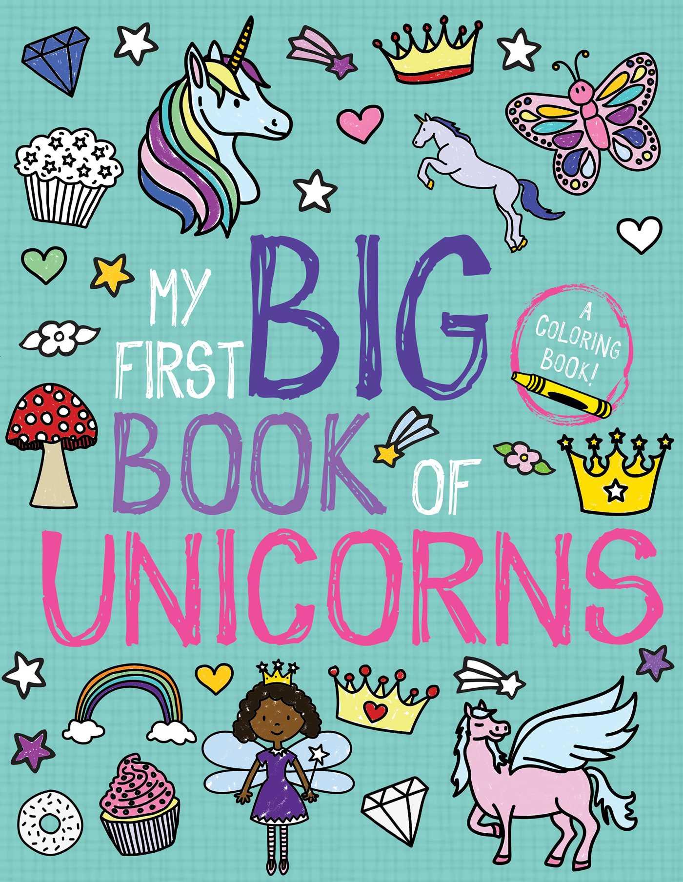 My first big book of unicorns 9781499807745 hr