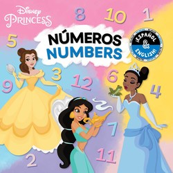 Numbers / Números (English-Spanish) (Disney Princess)