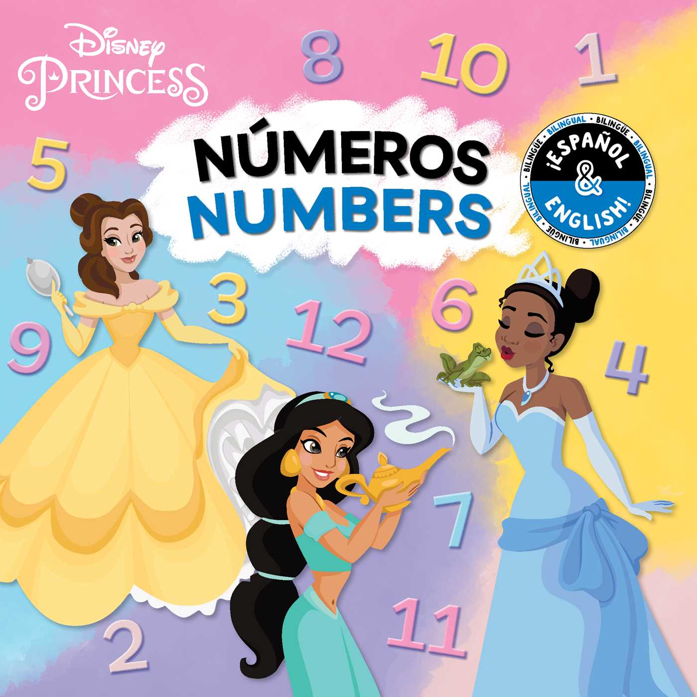 Numbers bilingual disney princess 9781499807806 hr