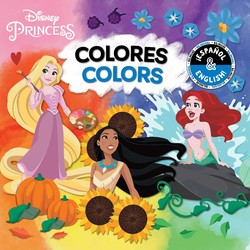 Colors / Colores (English-Spanish) (Disney Princess)