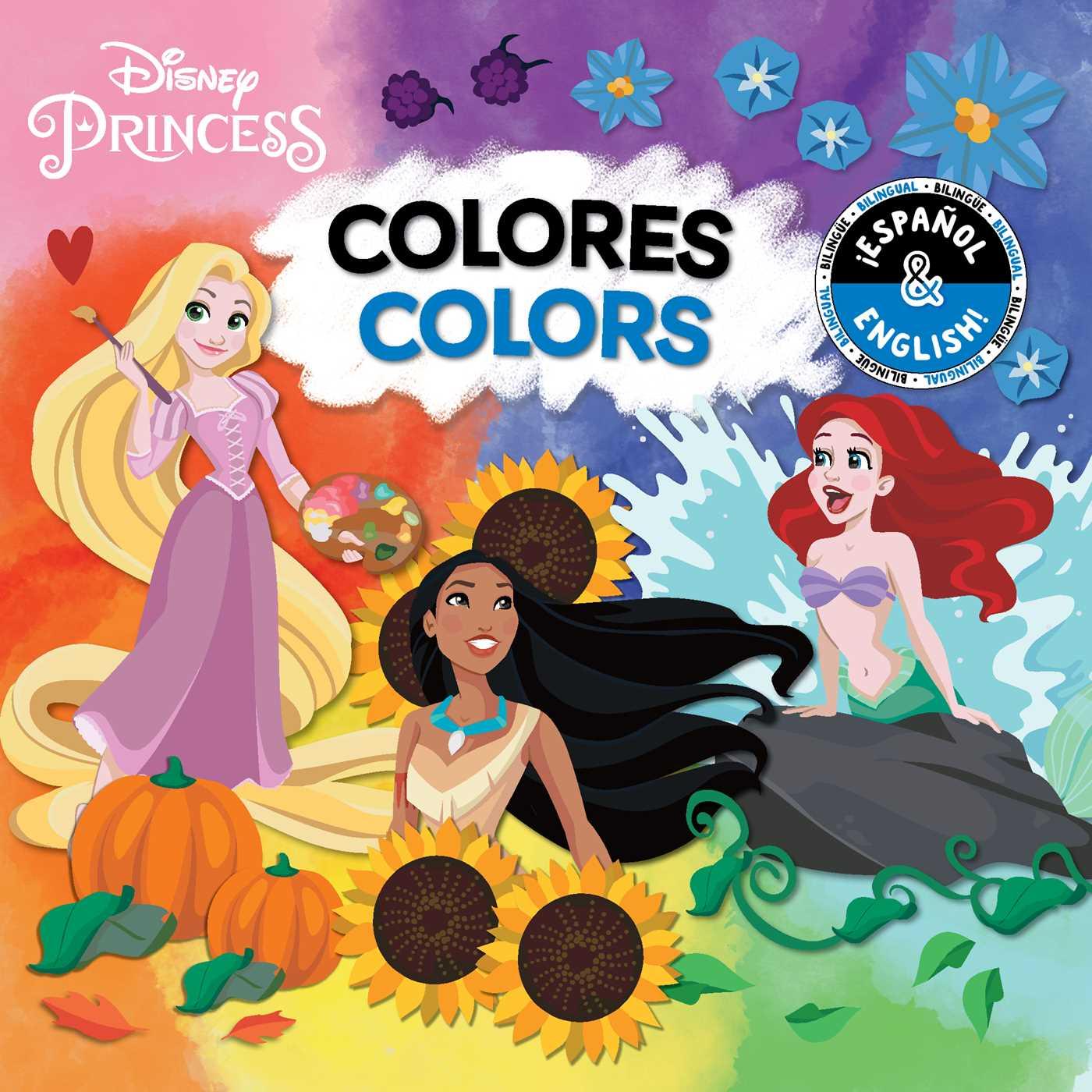 Colors bilingual disney princess 9781499807813 hr