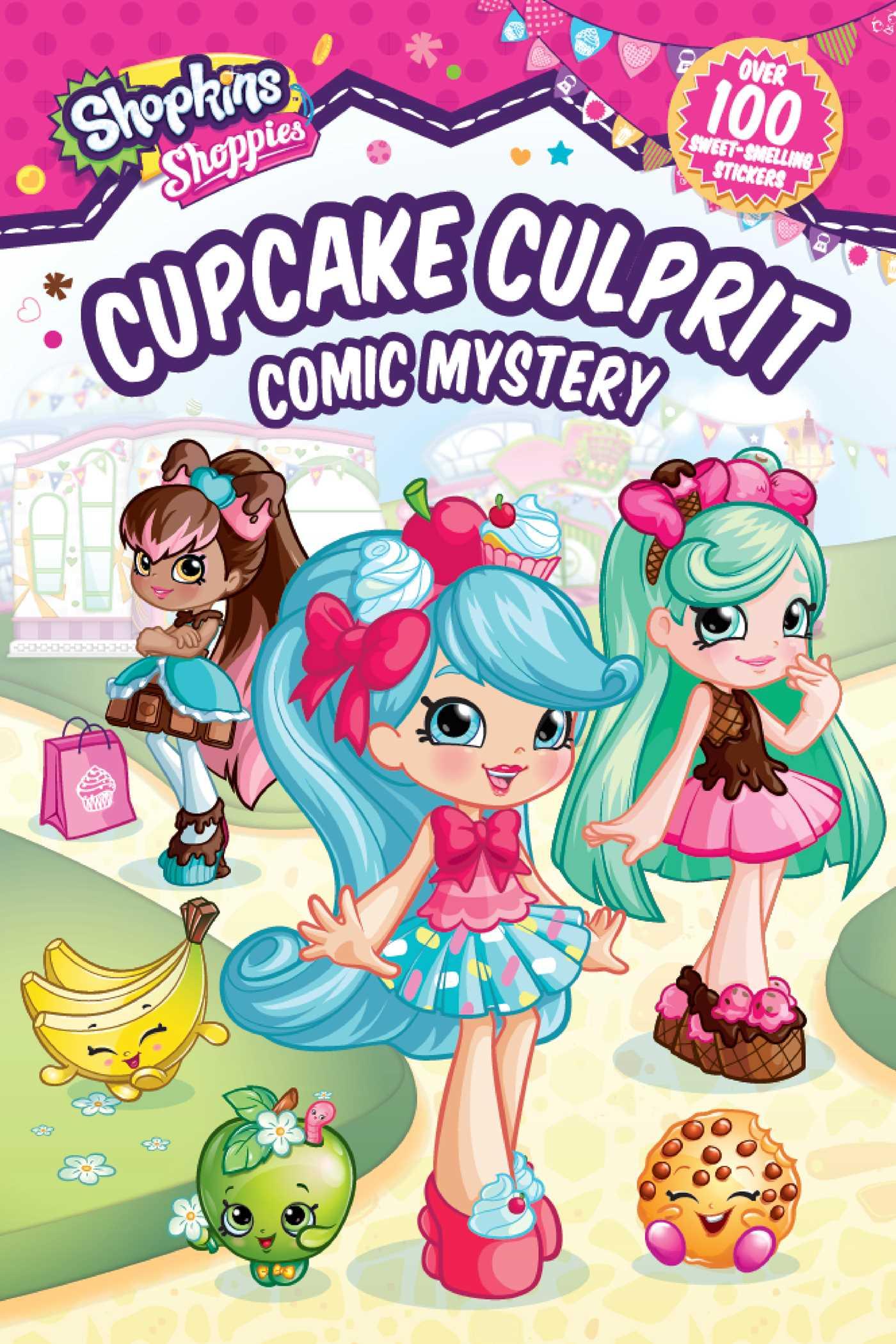 Shoppies cupcake culprit comic mystery 9781499807820 hr