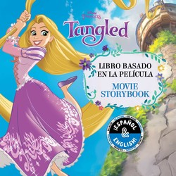 Tangled: Movie Storybook / Libro basado en la película (English-Spanish) (Disney Princess)