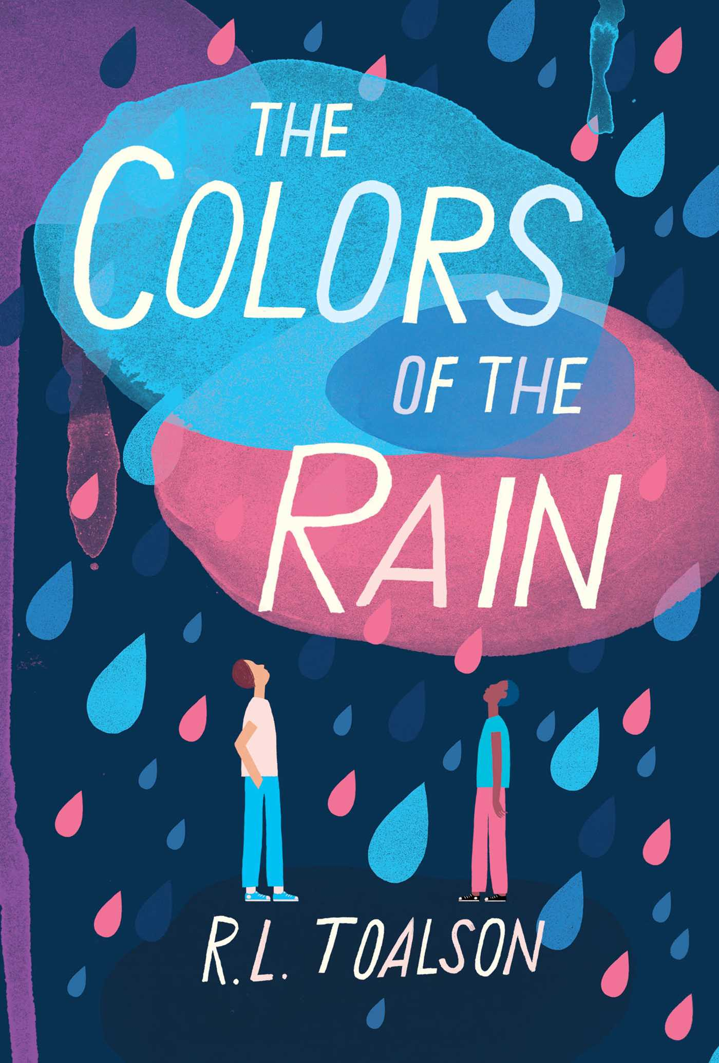 The colors of the rain 9781499808155 hr