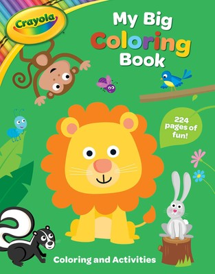 Crayola My Big Coloring Book Book By Buzzpop Official Publisher