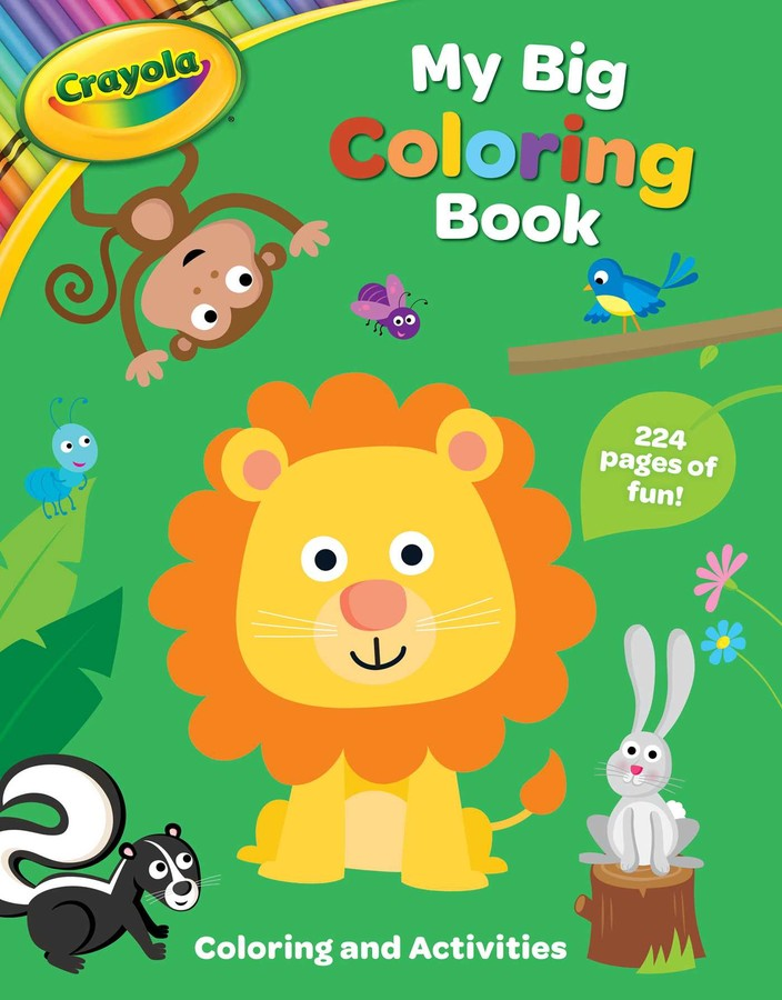Crayola My Big Coloring Book Book By BuzzPop Official Publisher Page  Simon & Schuster