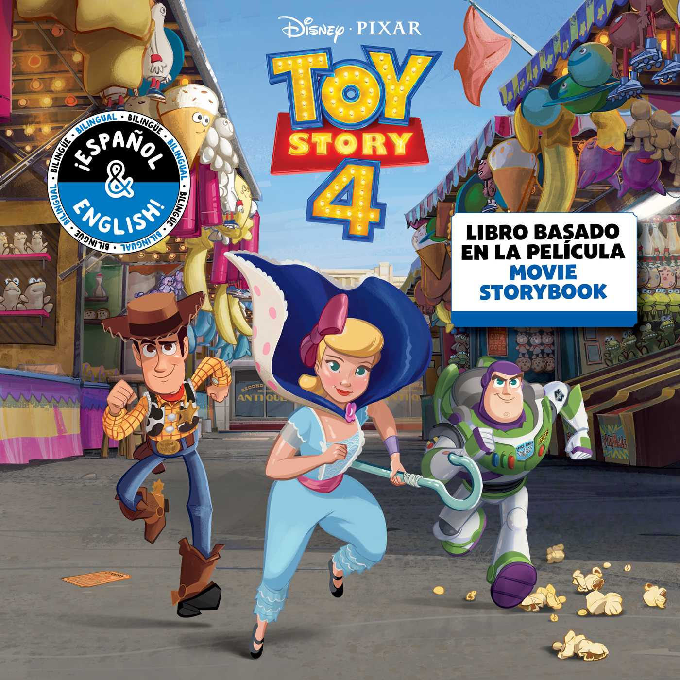 Toy Story Game Time Table Cover