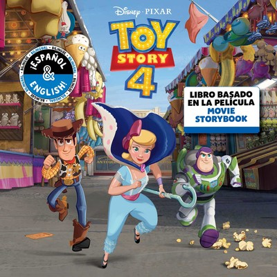 Disney Pixar Toy Story 4 Movie Storybook Libro Basado