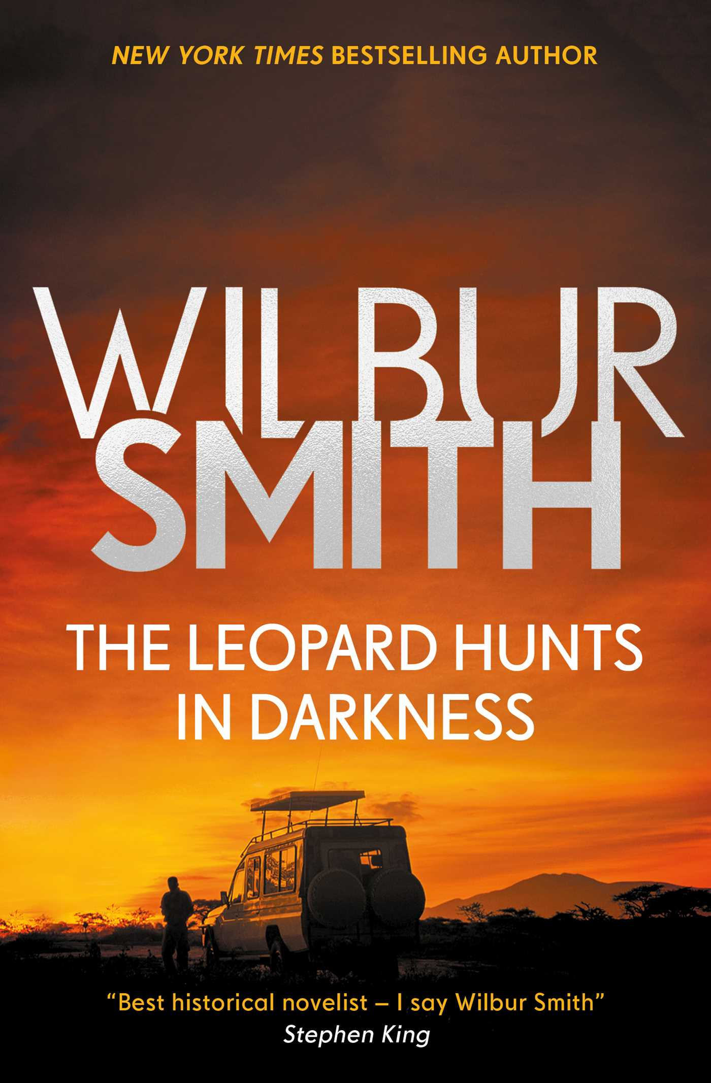 The leopard hunts in darkness 9781499860672 hr