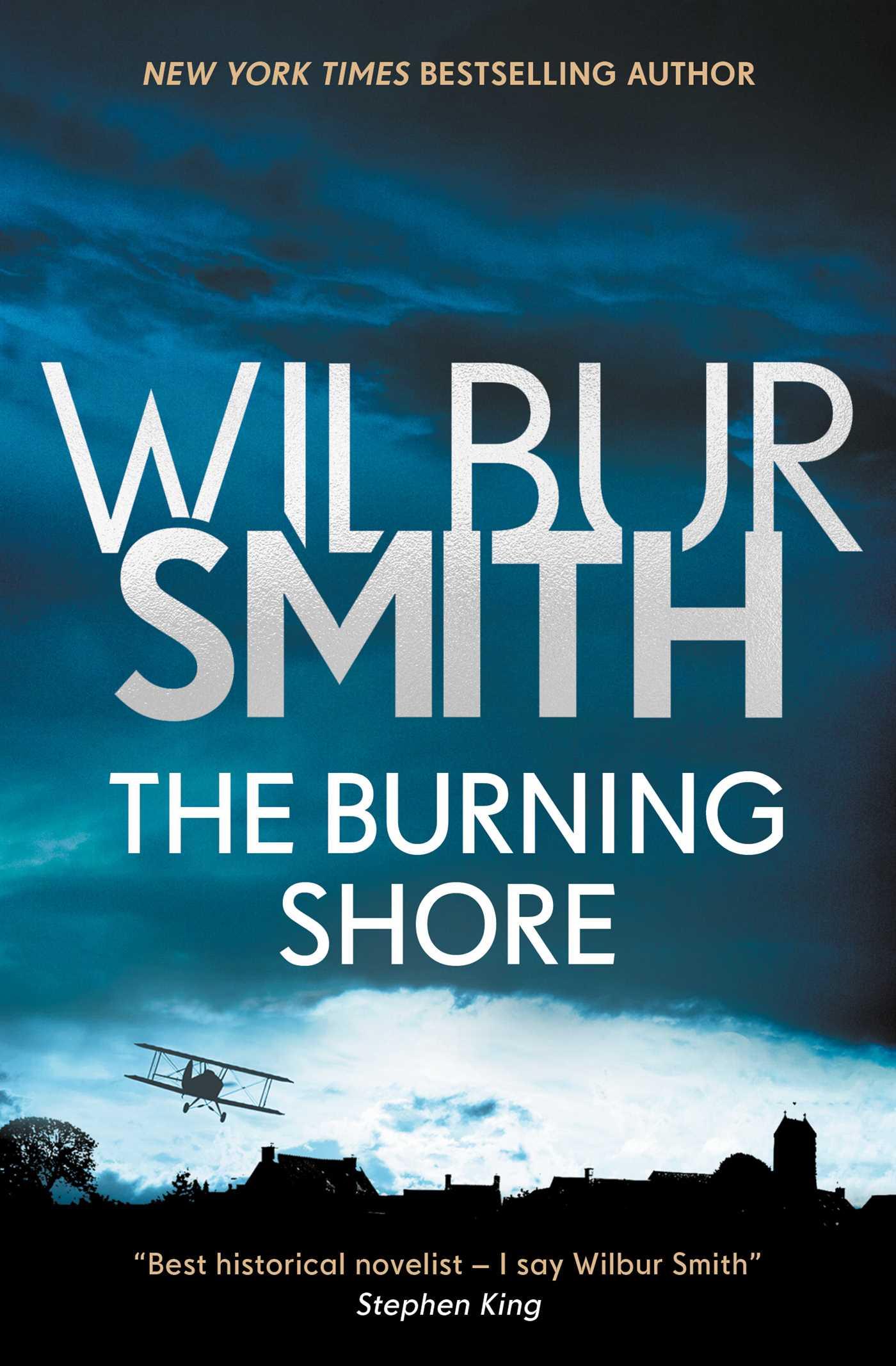 The burning shore 9781499860689 hr