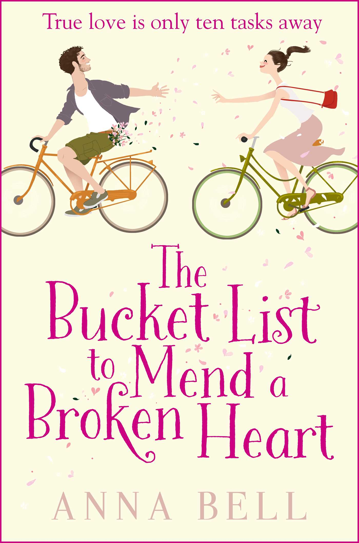 The bucket list to mend a broken heart 9781499861594 hr