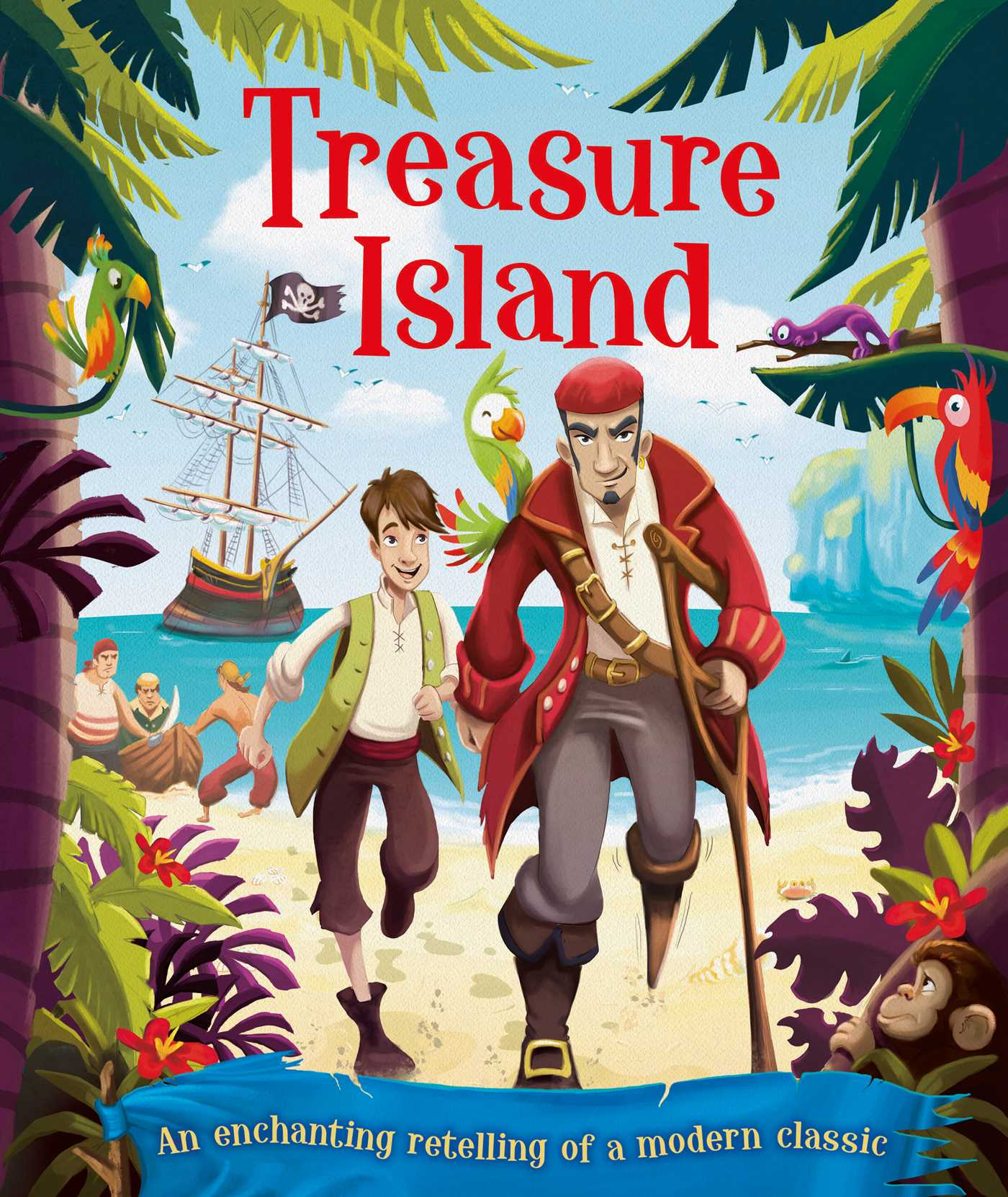 Treasure island 9781499880069 hr