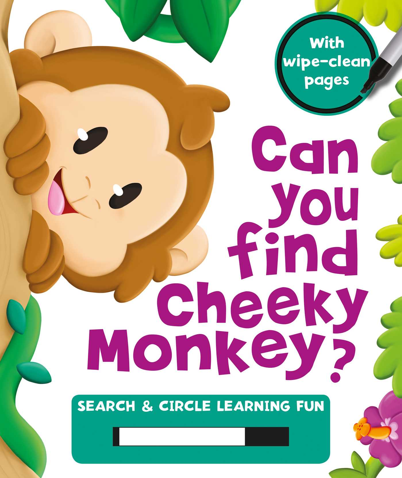Can you find cheeky monkey 9781499880090 hr