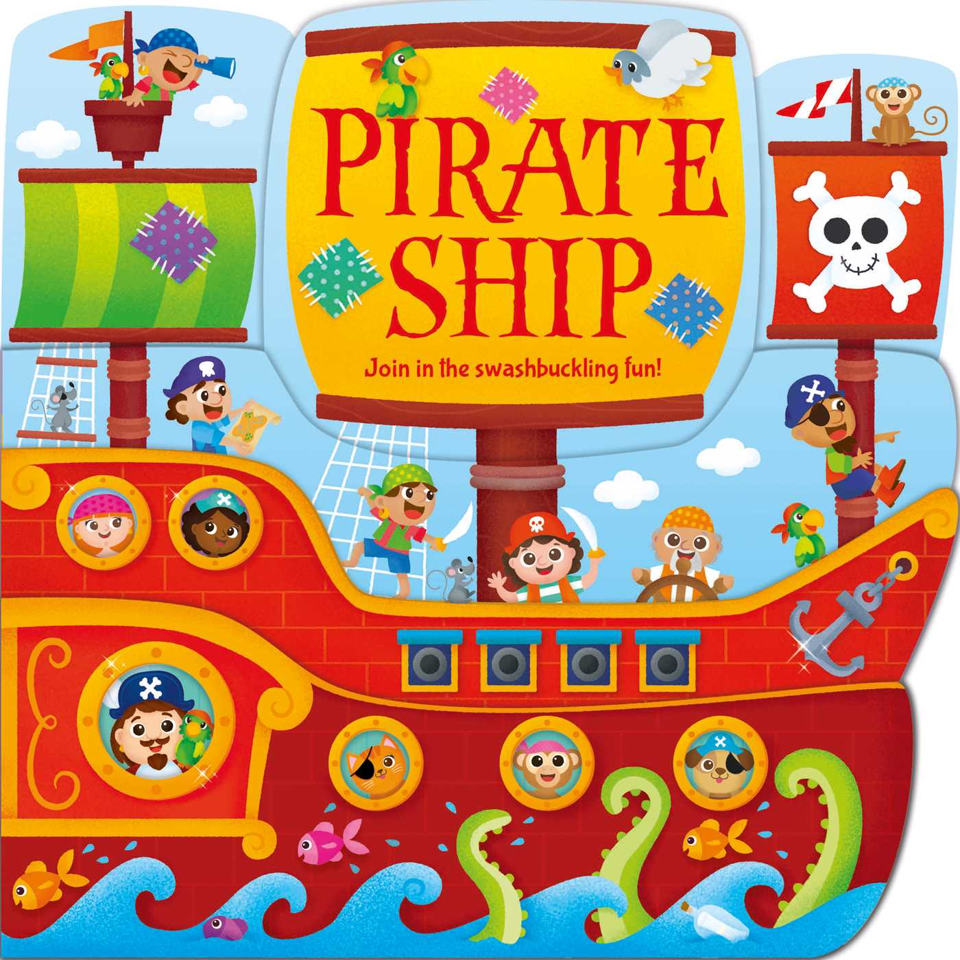 Pirate ship 9781499880656 hr