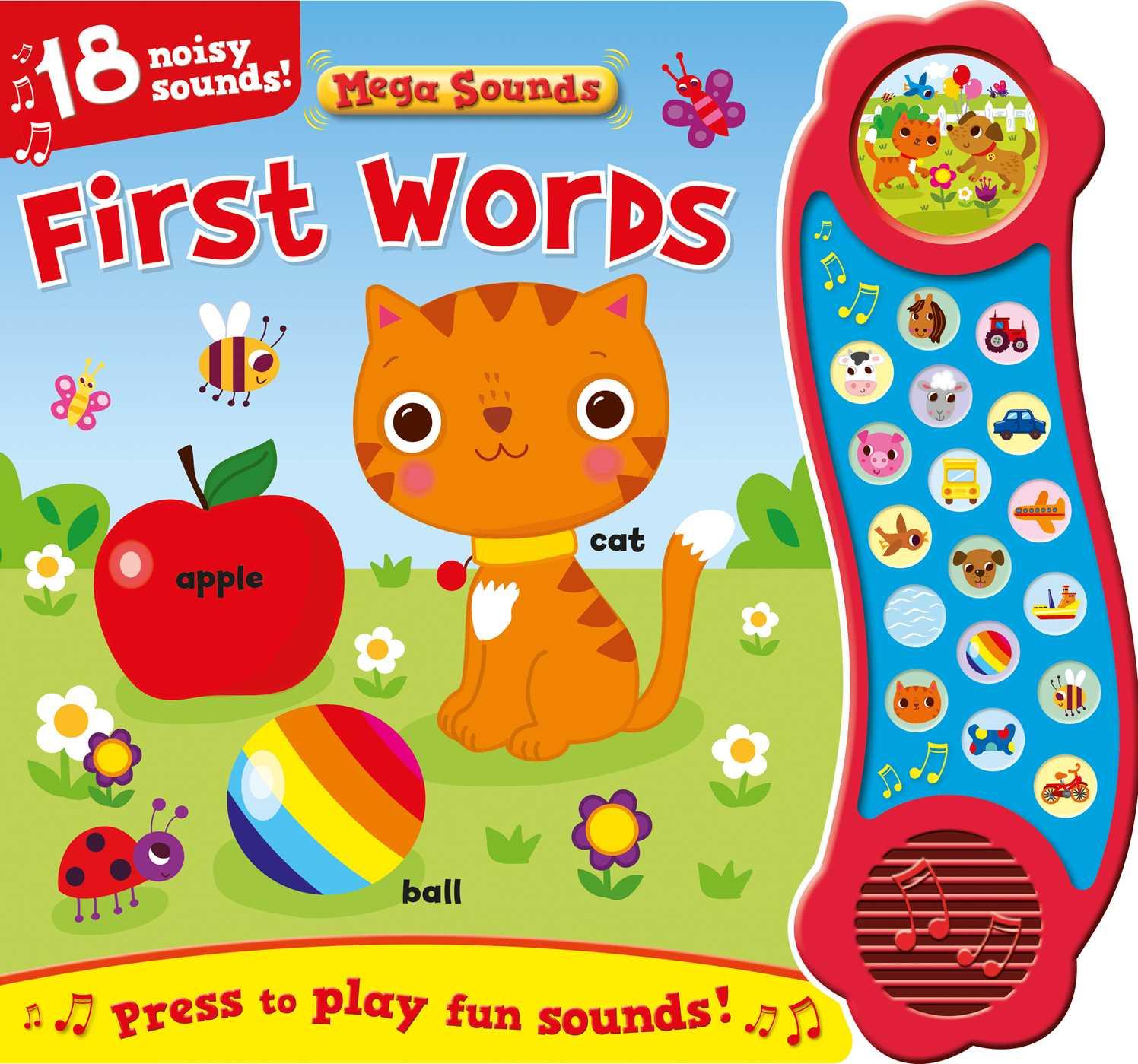 First words sound book 9781499880847 hr