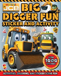 Big Digger Fun Sticker and Activity