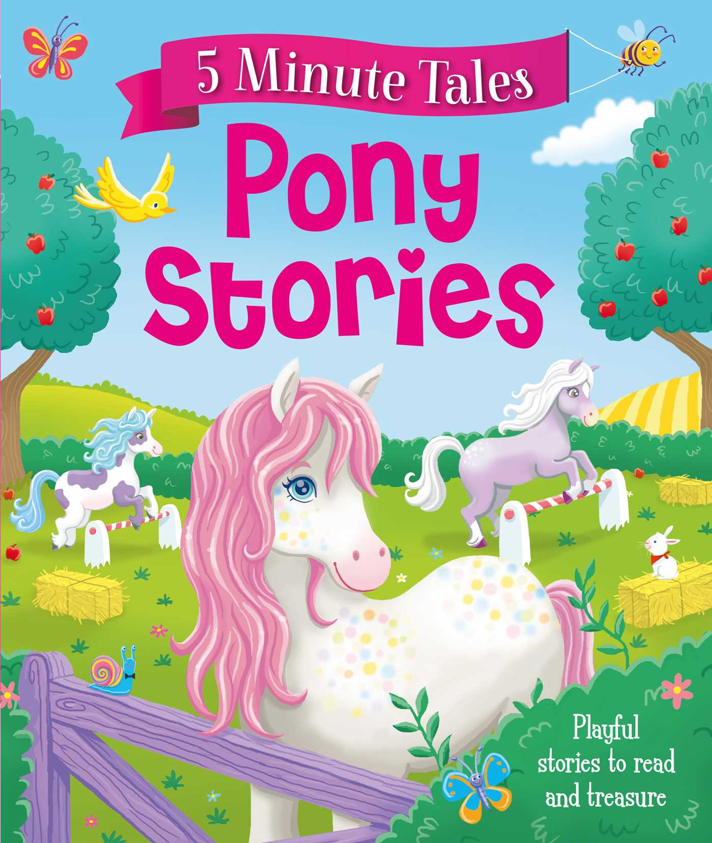 Five minute pony tales 9781499882094 hr