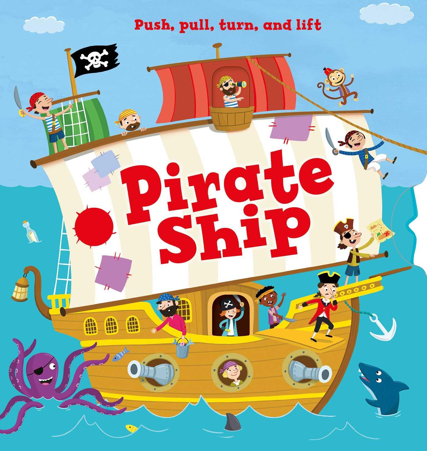 Pirate ship 9781499882186 hr