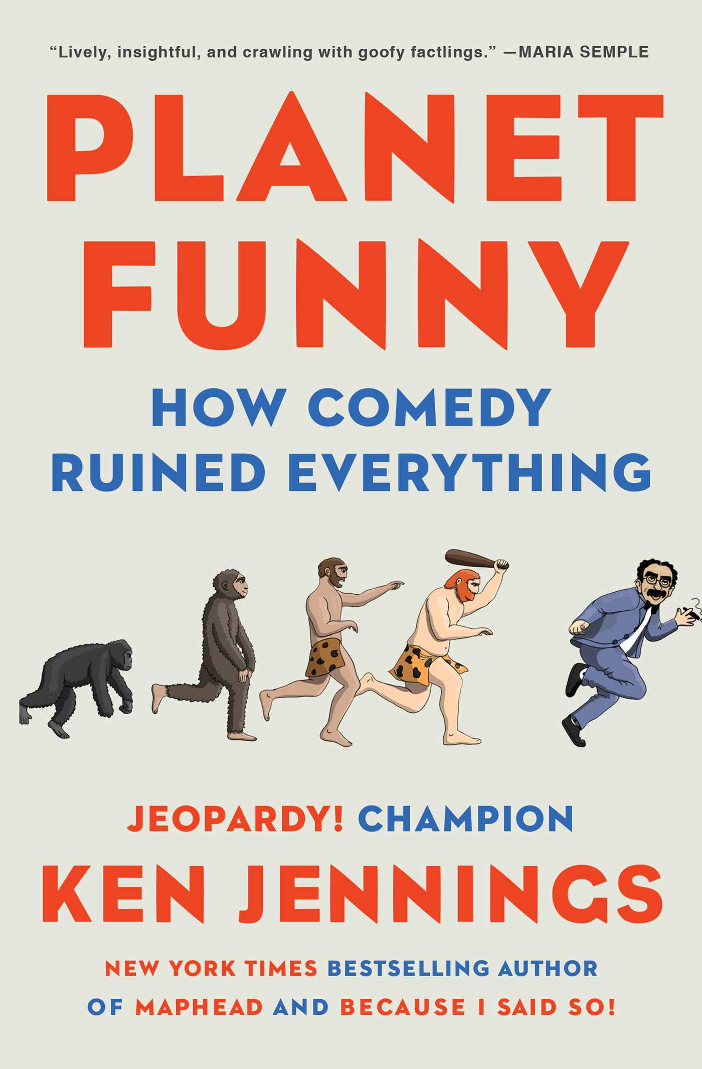 Planet Funny   Book by Ken Jennings   Official Publisher