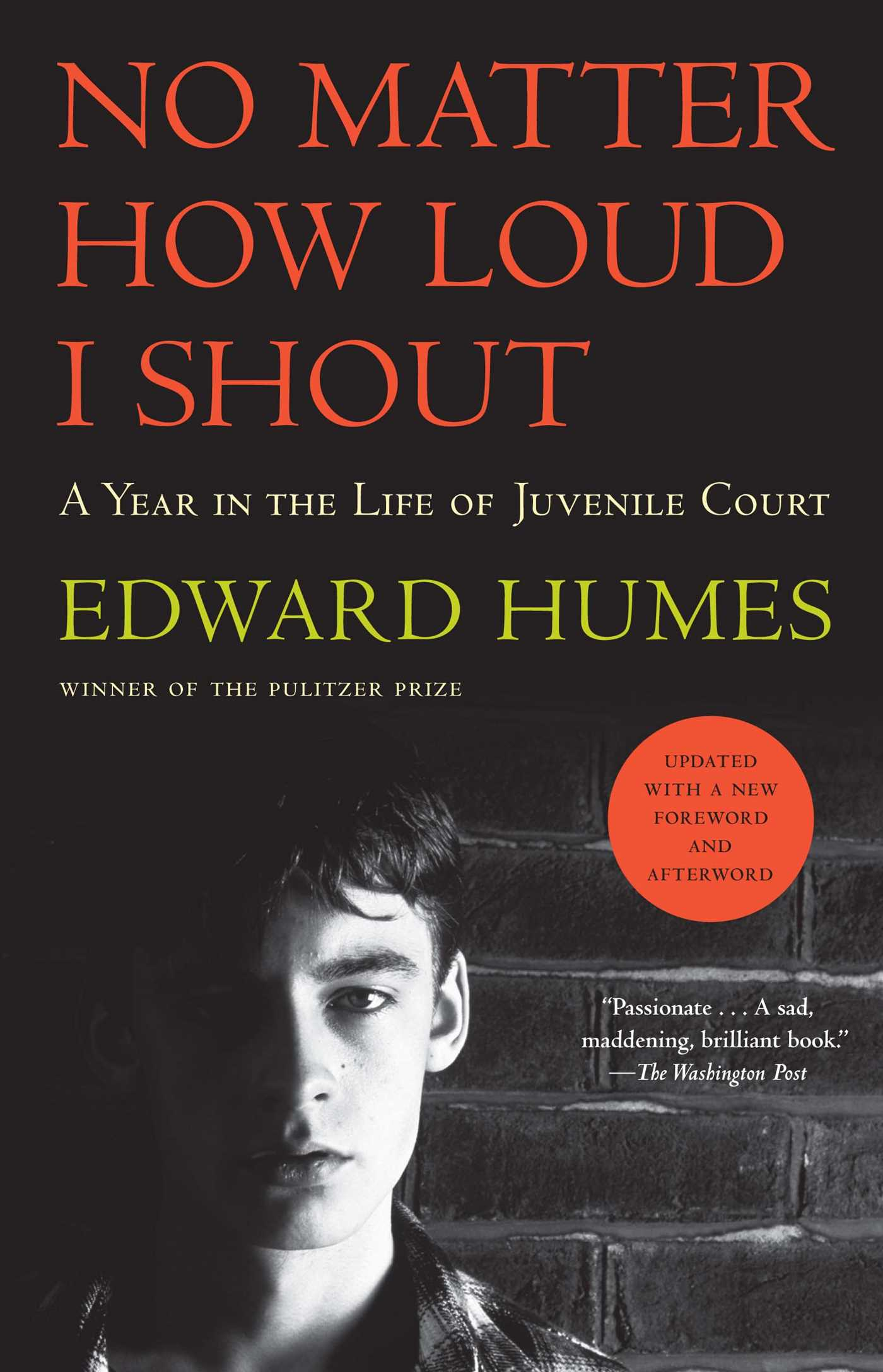 No Matter How Loud I Shout A Year In The Life Of Juvenile Court By Edward Humes