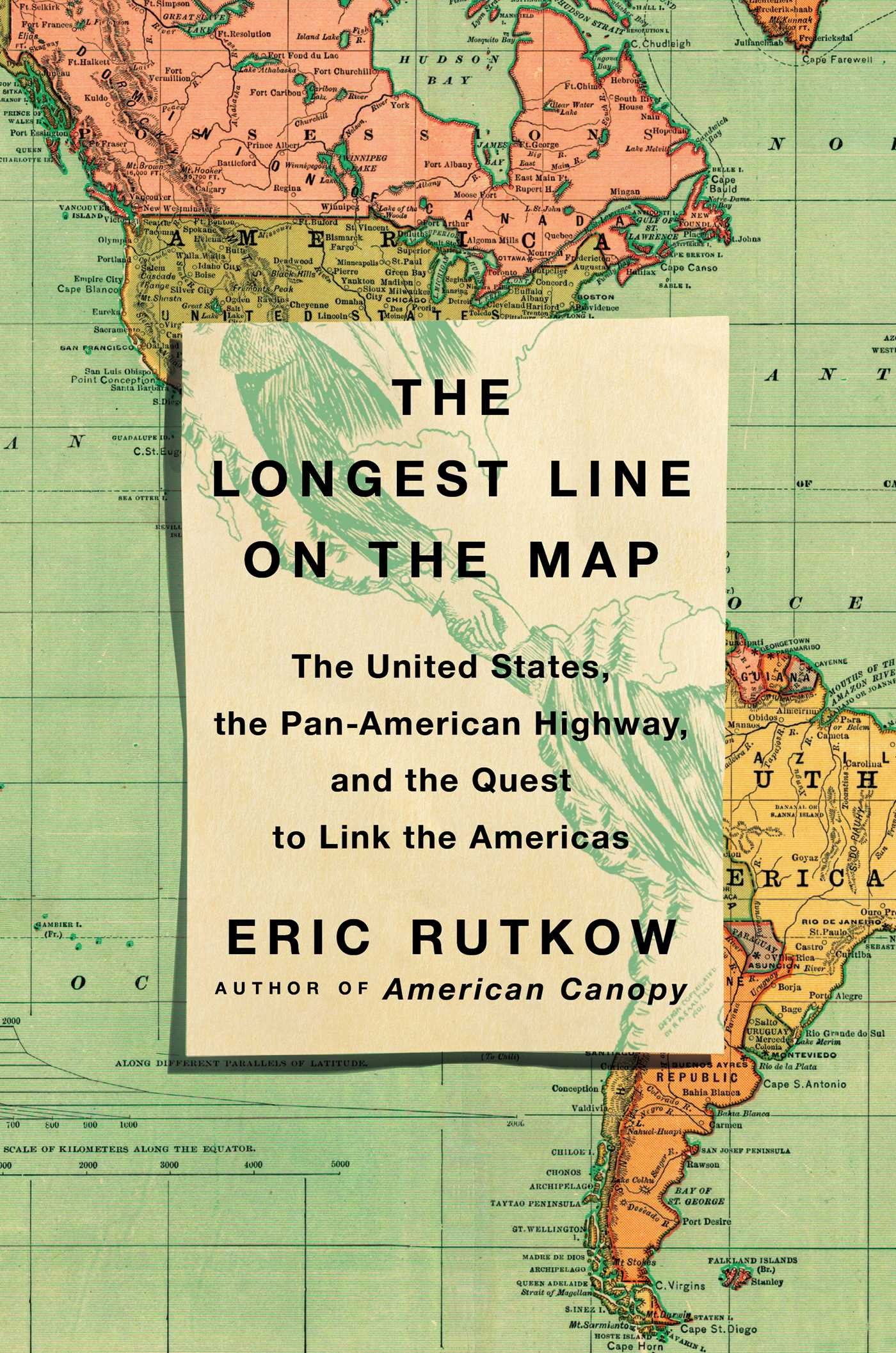 Book Cover Image (jpg): The Longest Line on the Map