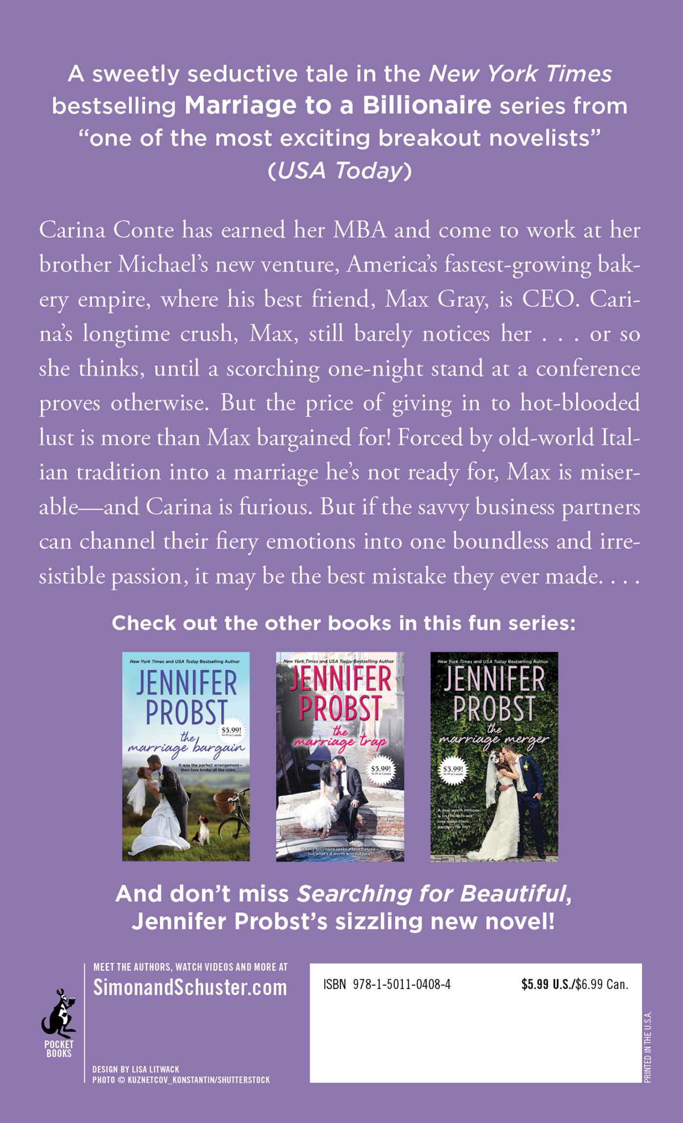 The marriage mistake book by jennifer probst official publisher the marriage mistake 9781501104084 hr marriage mistake 9781501104084 hr back fandeluxe Choice Image