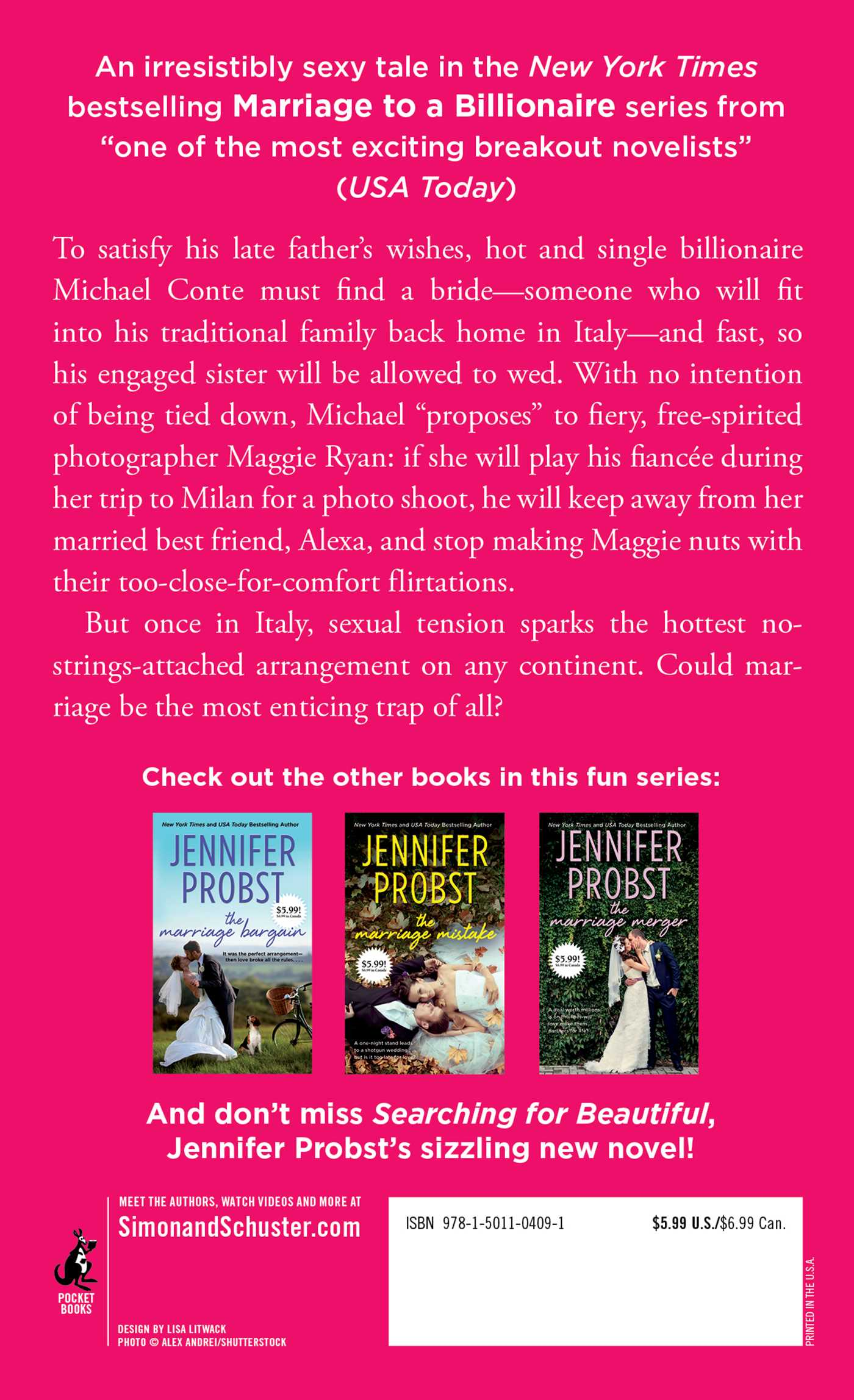 The marriage trap book by jennifer probst official publisher the marriage trap 9781501104091 hr marriage trap 9781501104091 hr back fandeluxe Images