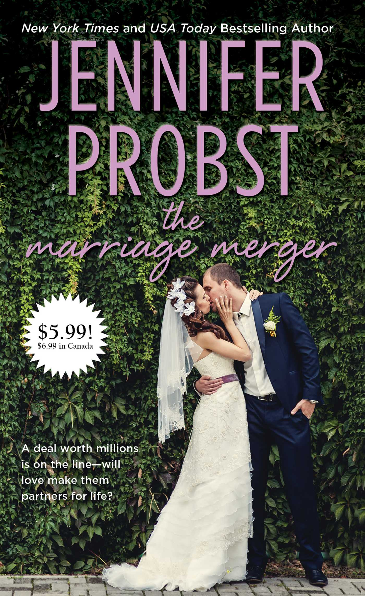 Marriage Merger book cover