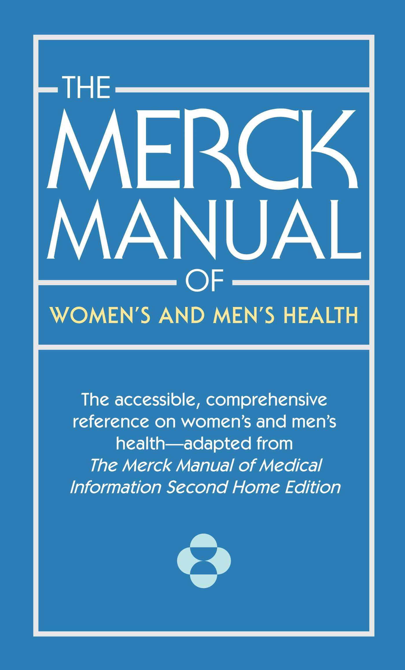 Book Cover Image (jpg): The Merck Manual of Women's and Men's Health