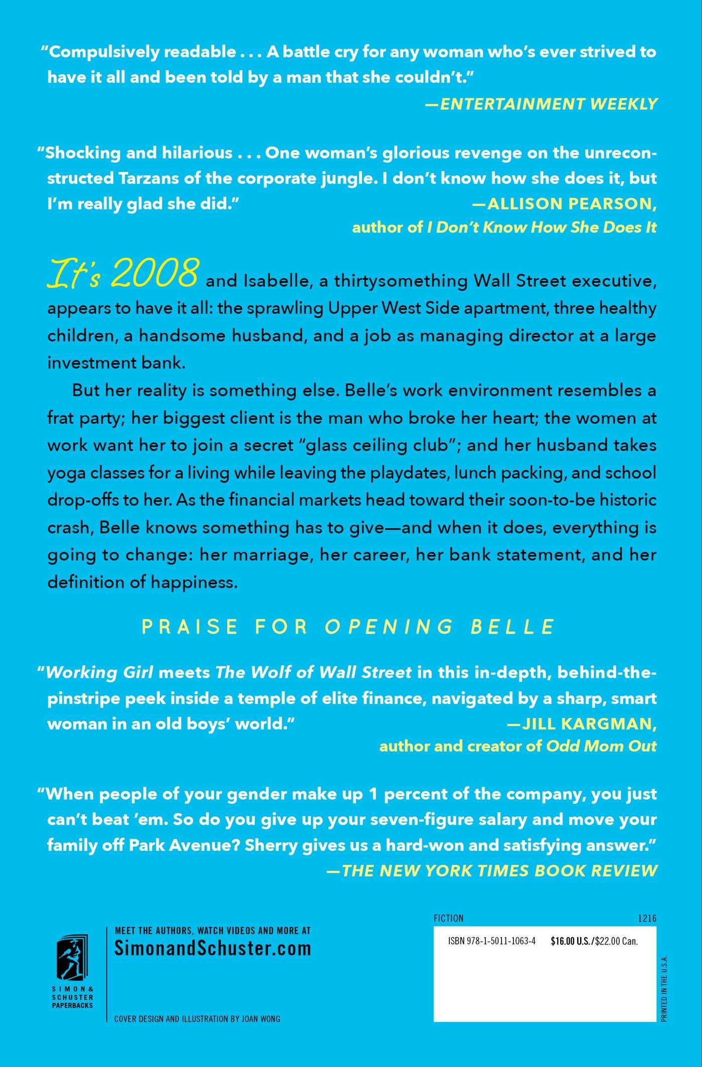 Opening belle 9781501110634 hr back