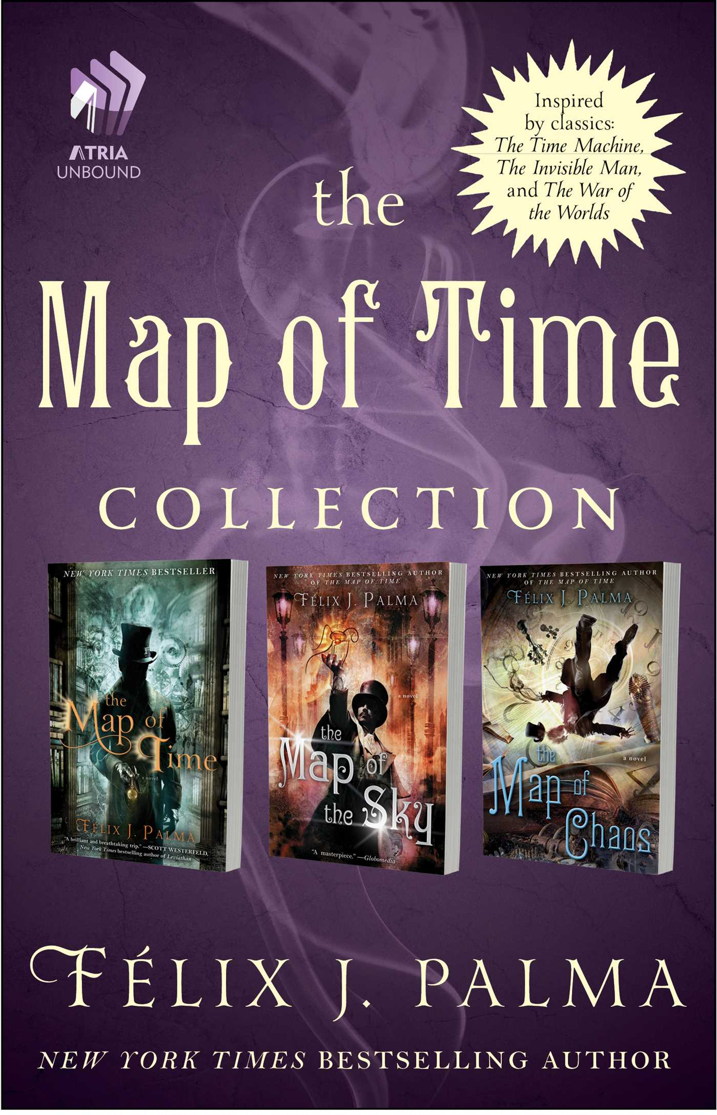 The map of time collection 9781501110740 hr