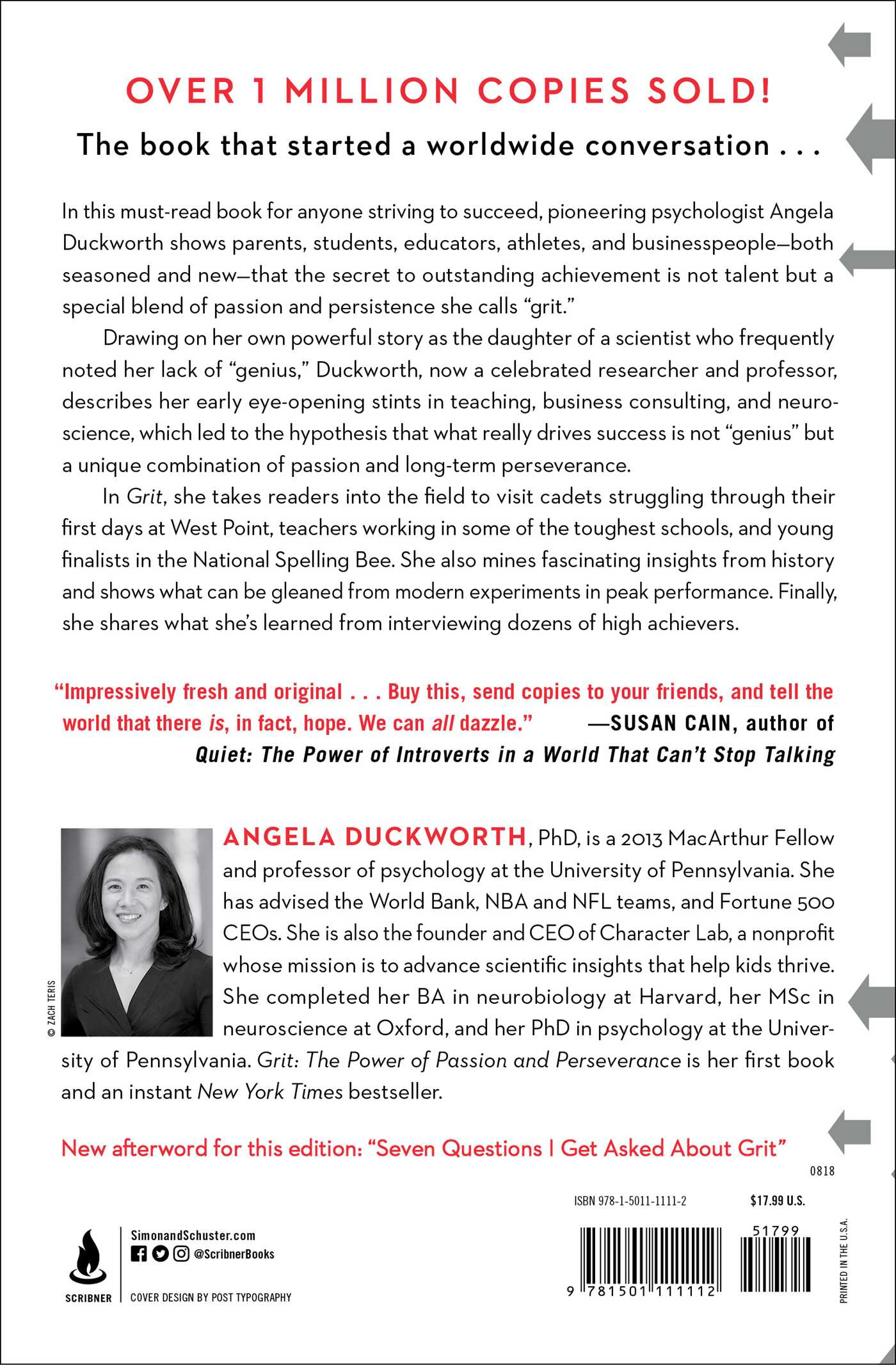 Putting Grit In Its Place >> Grit Book By Angela Duckworth Official Publisher Page Simon