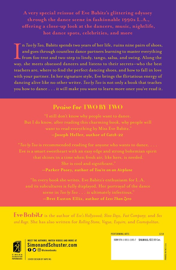 Two by Two | Book by Eve Babitz | Official Publisher Page
