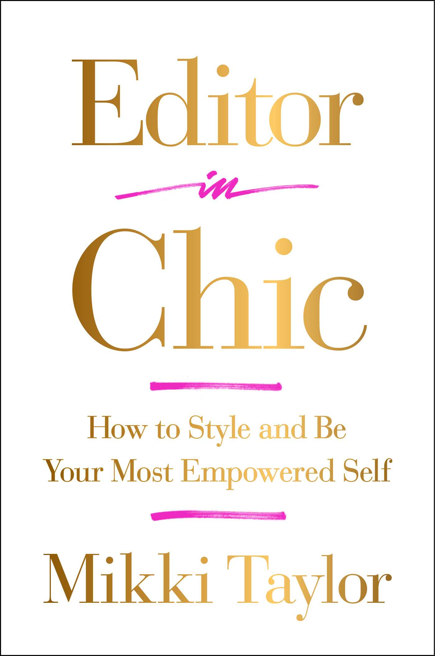 Editor in chic 9781501111518 hr