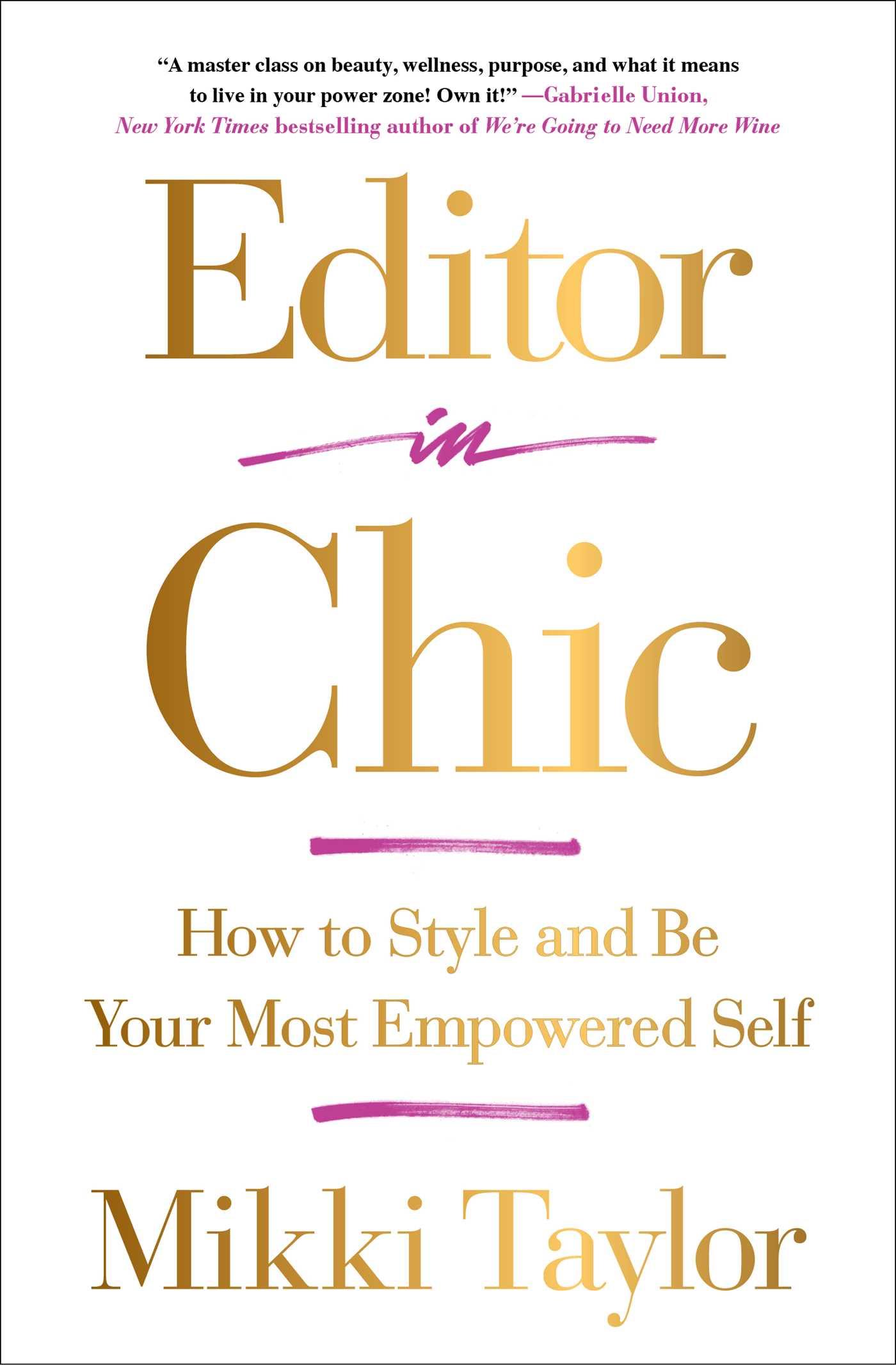 Editor in chic 9781501111716 hr