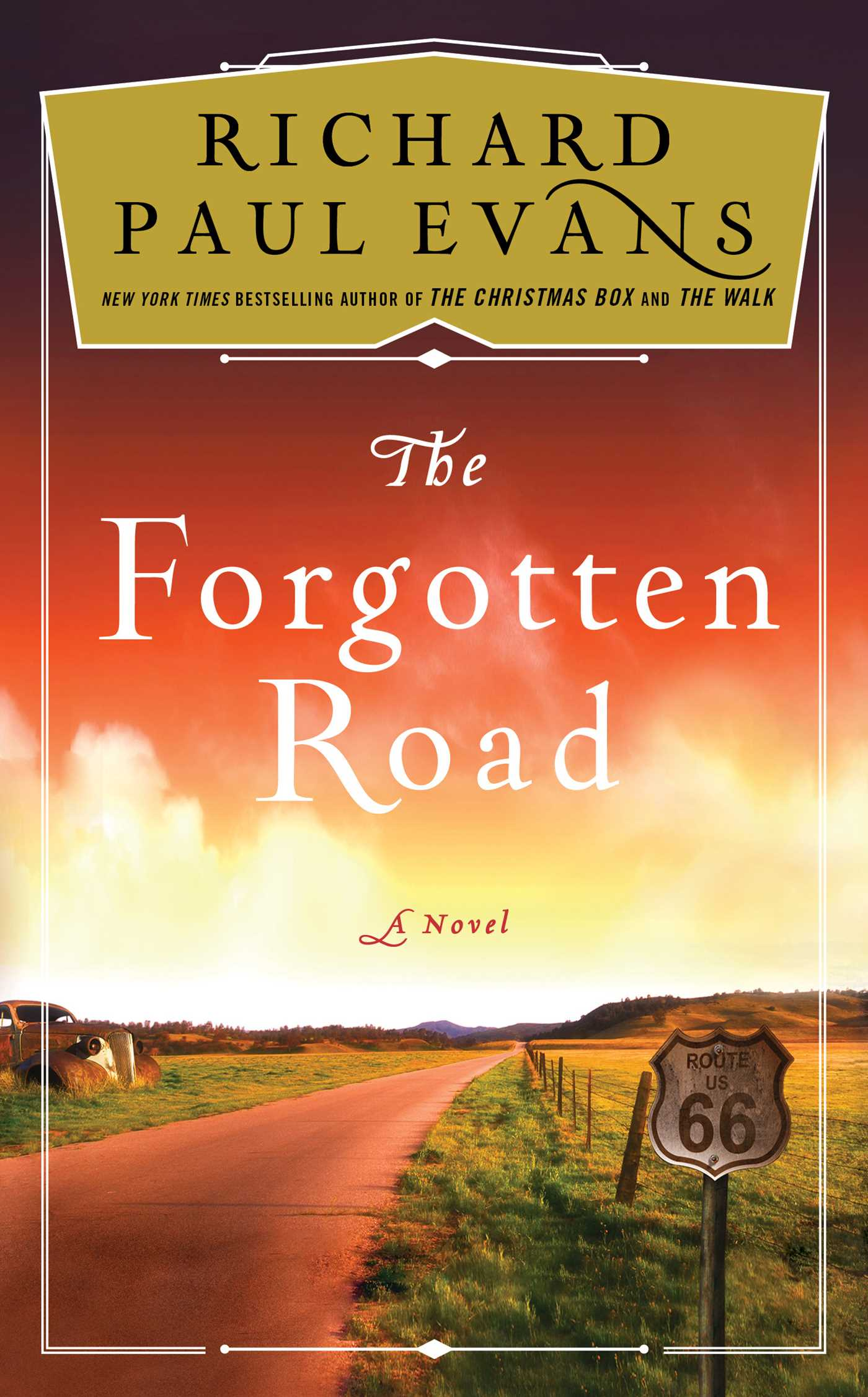 The forgotten road 9781501111792 hr