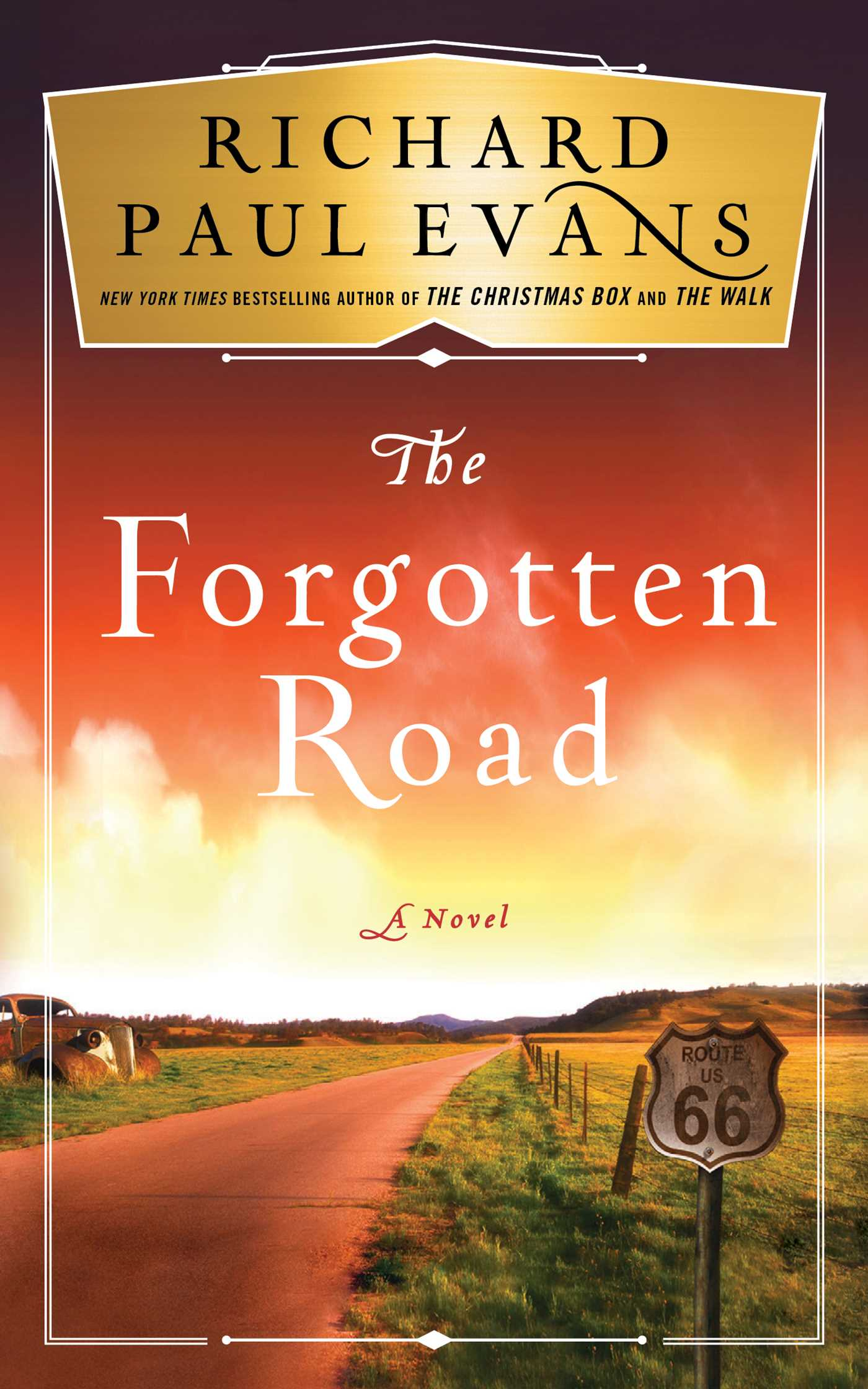 The forgotten road 9781501111815 hr