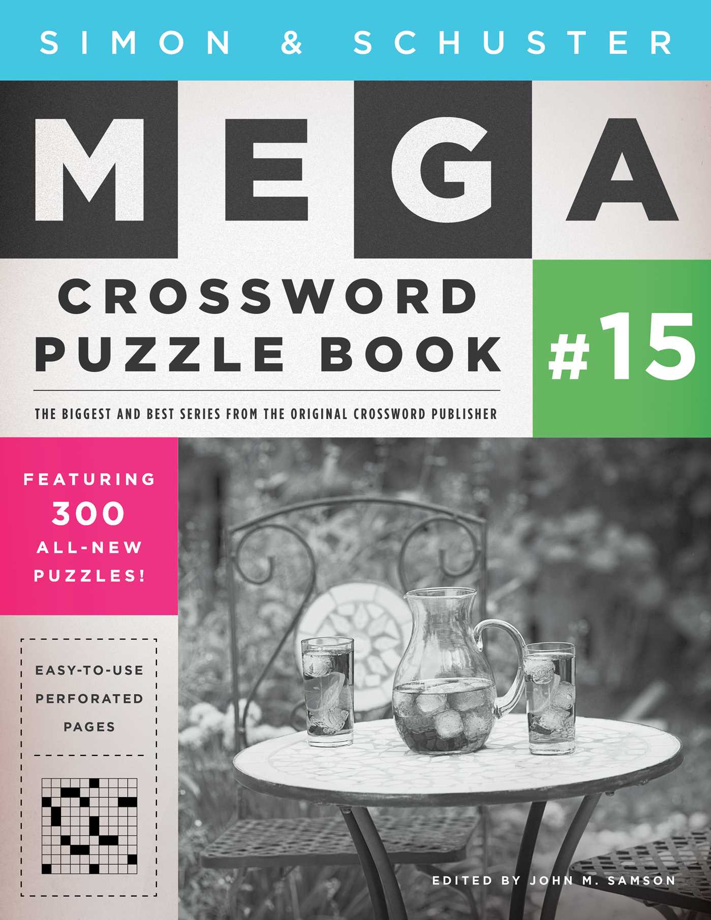 Simon schuster mega crossword puzzle book 15 9781501115868 hr