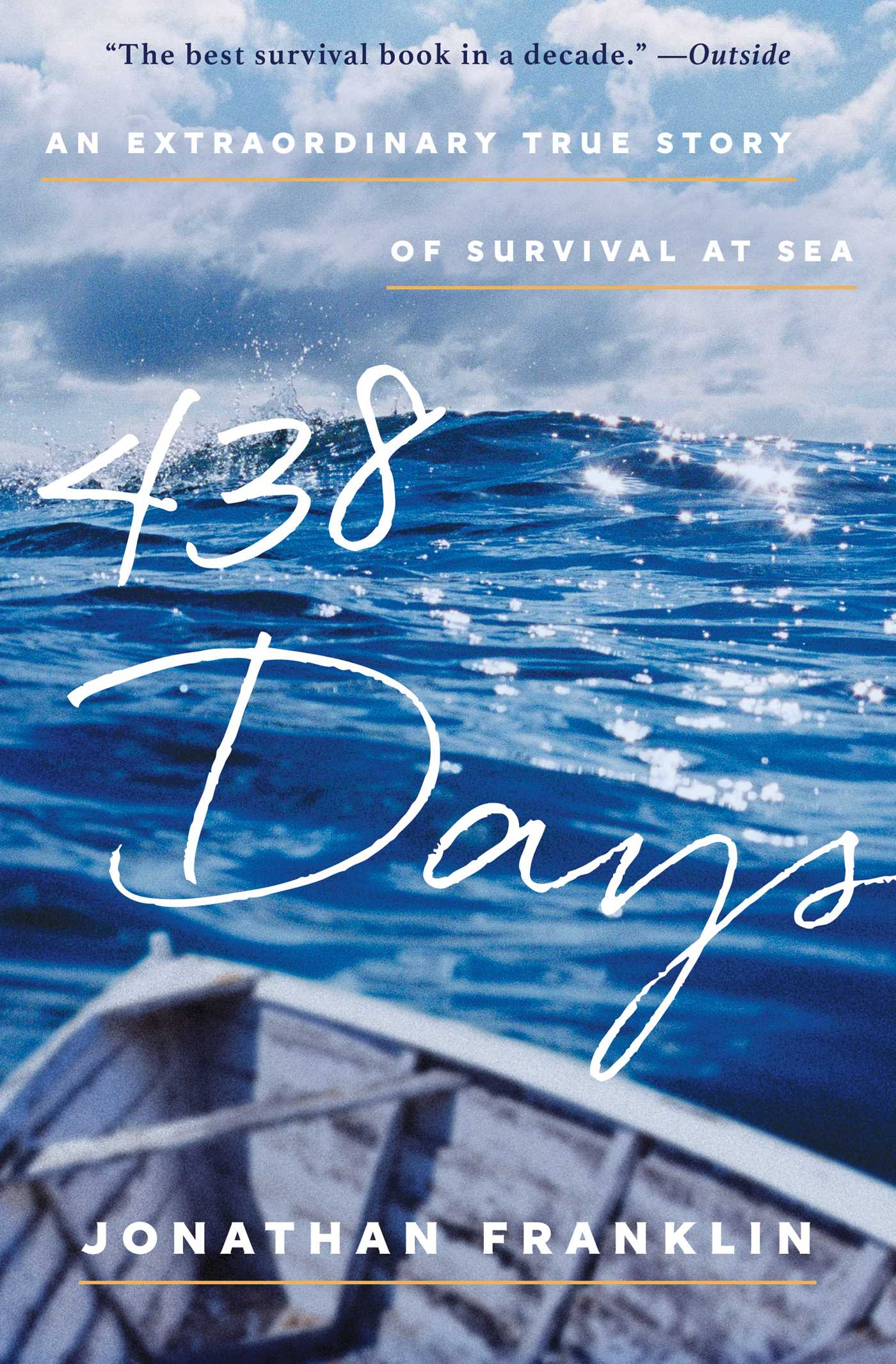 Book Cover Image (jpg): 438 Days