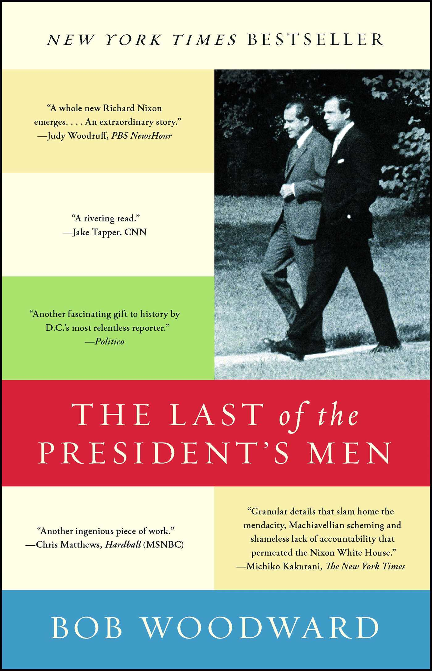 The last of the presidents men 9781501116452 hr