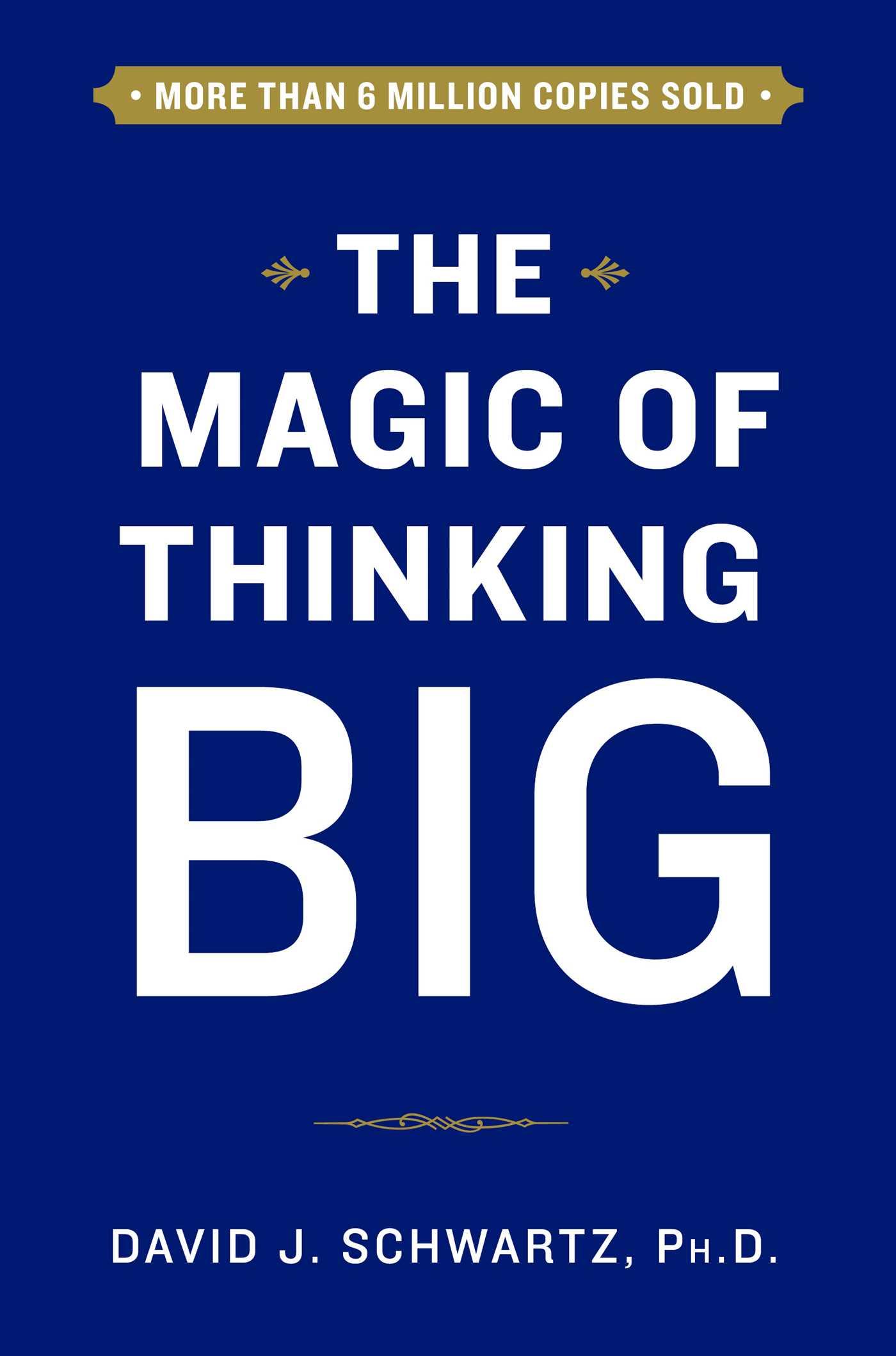 The magic of thinking big 9781501118210 hr