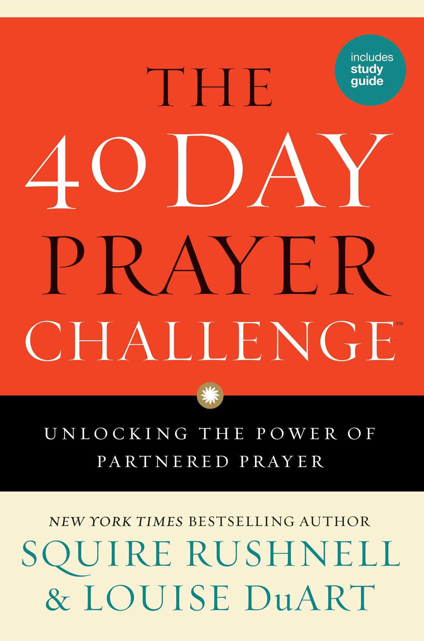 The 40 day prayer challenge 9781501119675 hr