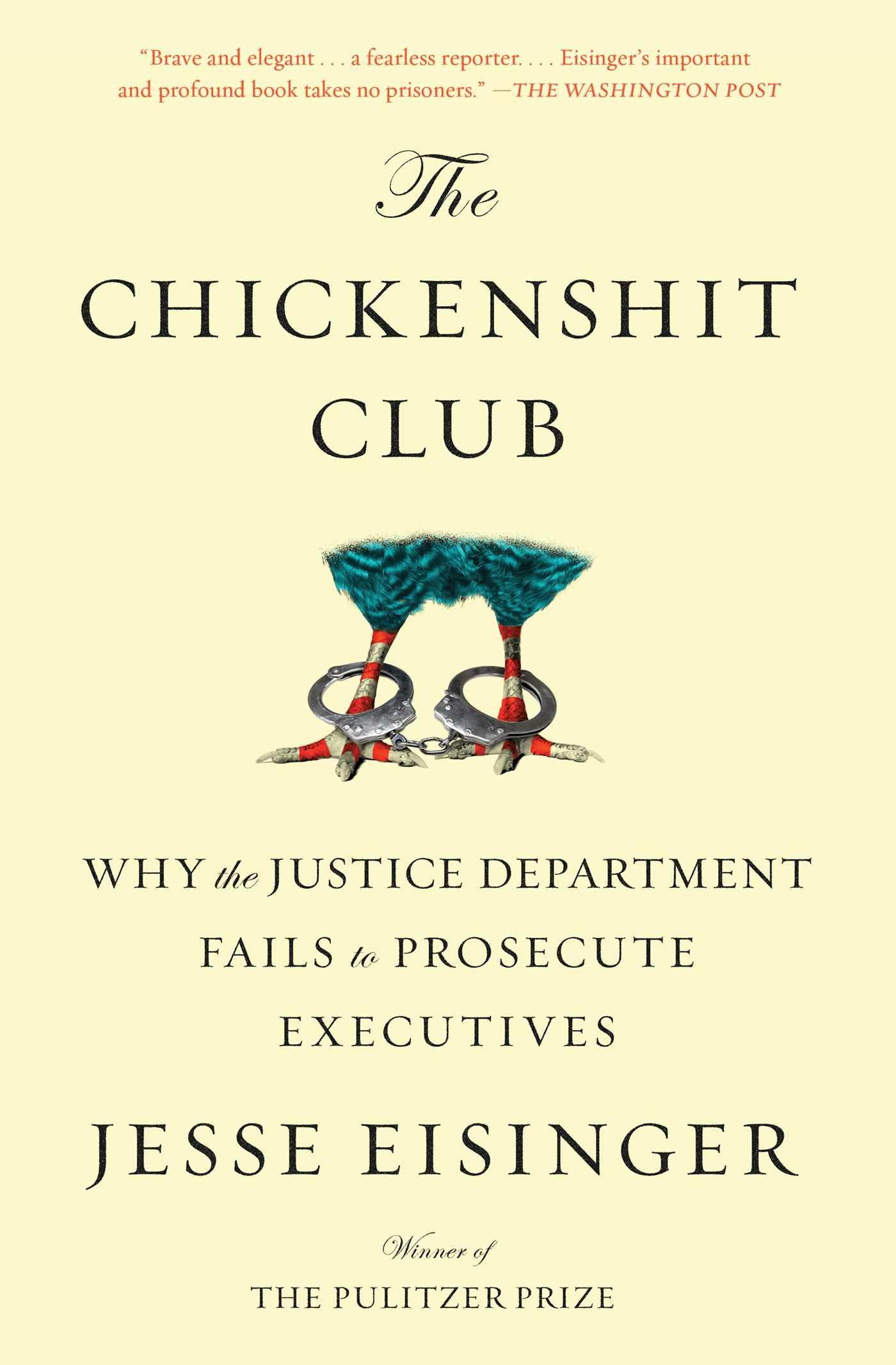 The chickenshit club 9781501121371 hr