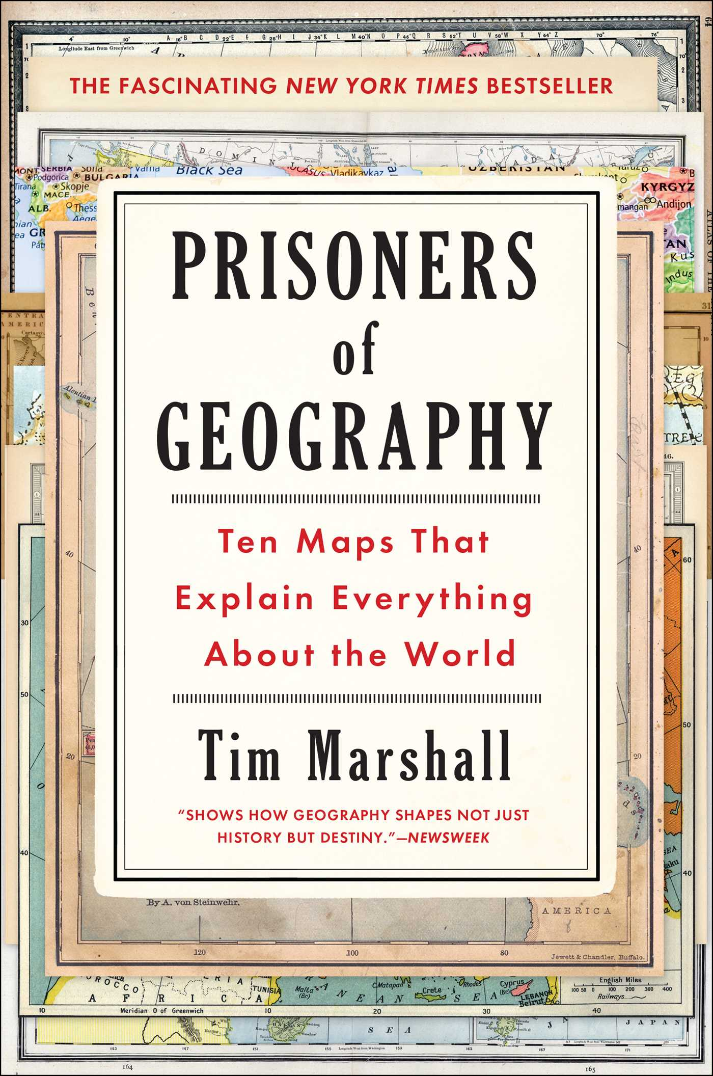Book Cover Image (jpg): Prisoners of Geography